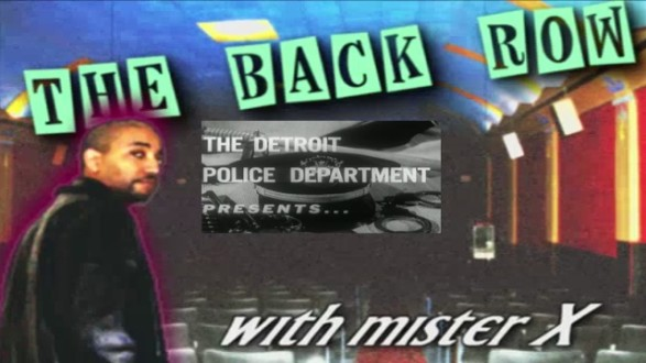 BackRow Riff:THIS IS YOUR POLICE DEPARTMENT (teaser)